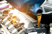 How many types of engine oil?