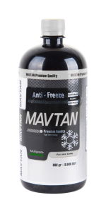 One Liter Mavtan antifreeze and anti-boils